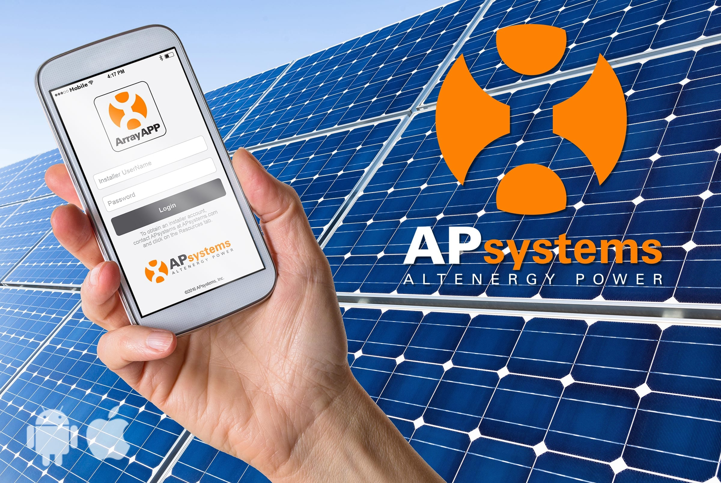 Apsystems Launches All In One Arrayapp Mobile Solar