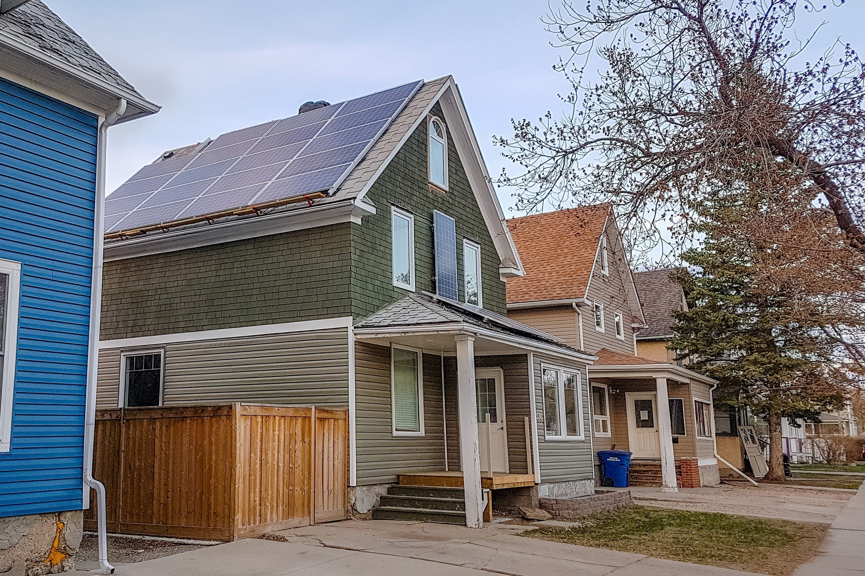 All Electric Solar Home Moose Jaw Saskatchewan Canada